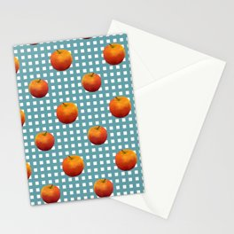 Apple on table Stationery Cards