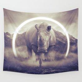 aegis II | rhino Wall Tapestry
