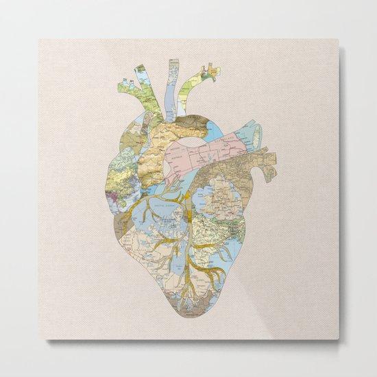 A Traveler's Heart (N.T) Metal Print