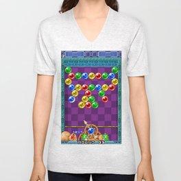 Puzzle Bobble Unisex V-Neck