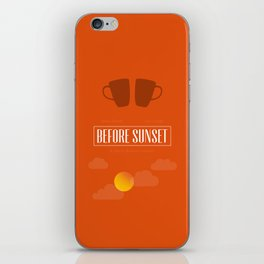 Before Sunset iPhone Skin