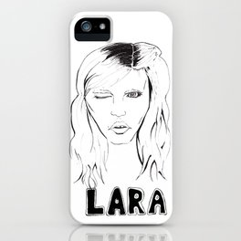Lara iPhone Case