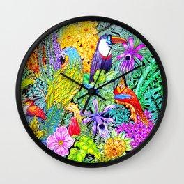 Nature's Sleeping Serenity Wall Clock