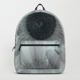 Transparent flower with butterflies Backpack