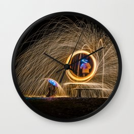 Light Fantastic Wall Clock