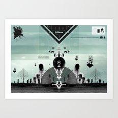 SUPER WORLD Art Print
