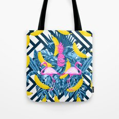 tropical banana fun  Tote Bag