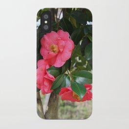camellia flower iPhone Case