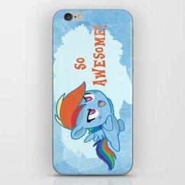 Rainbowdash cutie  iPhone Skin