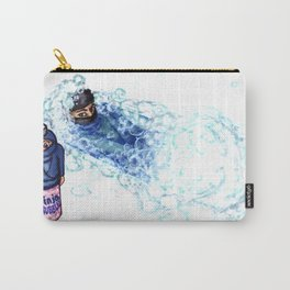 Ninja Stealthily Disappears into Bubble Bath Carry-All Pouch