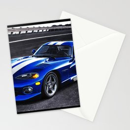 ICONIC AMERICAN MUSCLECAR FROM 90s Stationery Cards