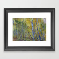 Blue Grove Framed Art Print