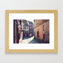Malostrana, Prague. Framed Art Print