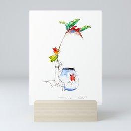 Bird of Paradise 2016 Mini Art Print