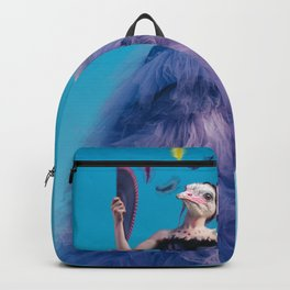 Ostrich woman Backpack