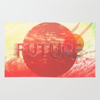 future Area & Throw Rugs featuring Future by SeraphimChris