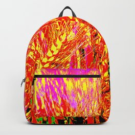 Wheat Pattern #Society 6 # buy art  #decor Backpack