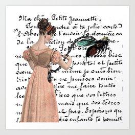 La Mouche Art Print