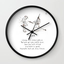 Sword Limerick Wall Clock