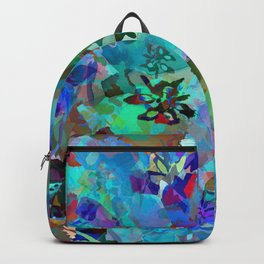 Hawaiian Jungle Batik Backpack
