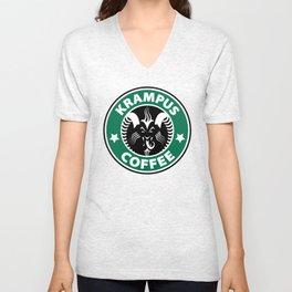 Krampus Coffee Unisex V-Neck