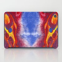 the hound iPad Cases featuring Hell Hound by PlaidRed