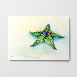 Horned Sea Star Metal Print