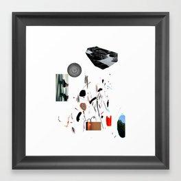 des2 Framed Art Print