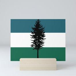Flag of Cascadia  Mini Art Print
