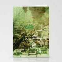 vienna Stationery Cards featuring Vienna 01 by Corrinna