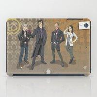 sherlock iPad Cases featuring Sherlock by Fernando Cano Zapata