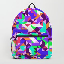 Off-Beat Geometric Shapes V.04 Backpack