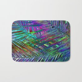 Multicolor Palm Leaves 2 Bath Mat