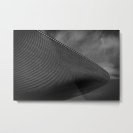 London aquatic centre Metal Print