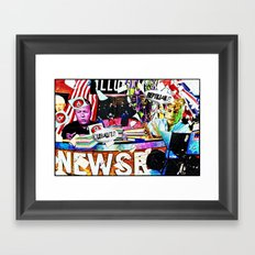 Newsroom Framed Art Print