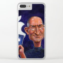 Steve Jobs: Think Different Clear iPhone Case