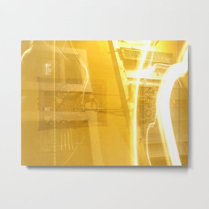 Light Haze Metal Print