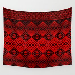 The Lodge (Red) Wall Tapestry