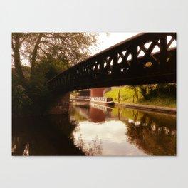 Canal Dreams Canvas Print