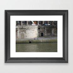 Naptime in Paris Framed Art Print