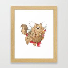 Tommy Cupid Framed Art Print