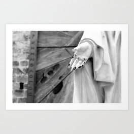 Statue Hand Art Print