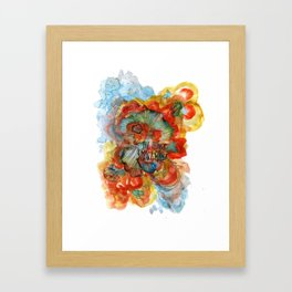 The Things Framed Art Print