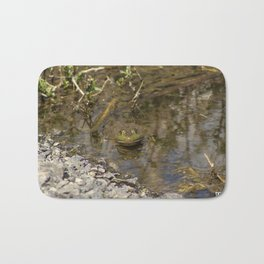 Whatcha Looking at Frog? Bath Mat