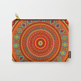 Mandala Aztec Pattern Carry-All Pouch