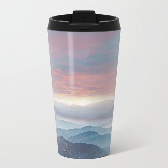Pastel vibes 72 Metal Travel Mug