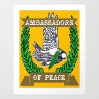 AMBASSADORS OF PEACE Art Print