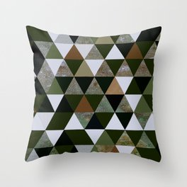 Abstract #344 Throw Pillow
