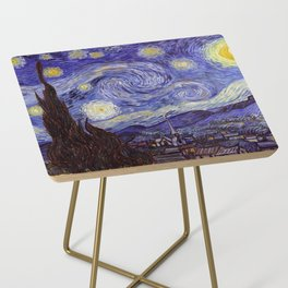 Vincent Van Gogh Starry Night Side Table