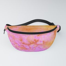 Candy Crushes Pink & Orange Fanny Pack